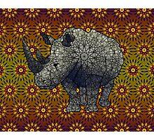 White Rhino Photographic Print