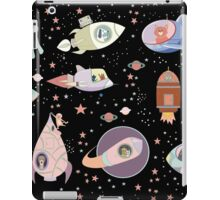 OUTER SPACE CANINES & FELINES iPad Case/Skin