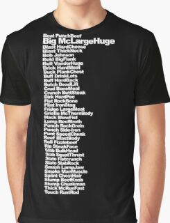 Big McLargeHuge Graphic T-Shirt
