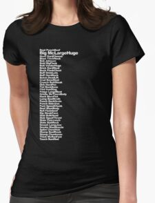 Big McLargeHuge Womens Fitted T-Shirt