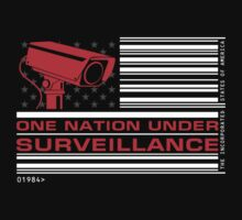 One Nation Under Surveillance by 01Graphics