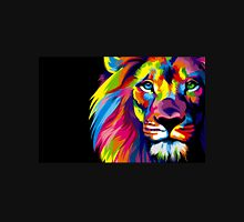 Colourful Lion Abstract T-Shirt