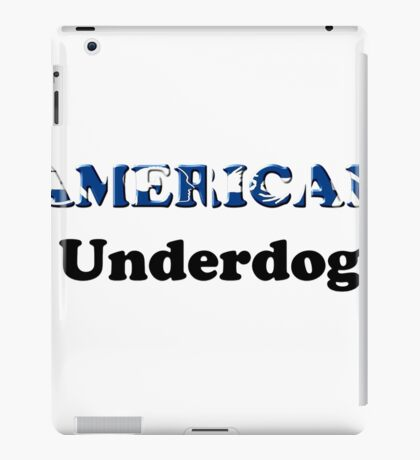 American Underdog - Disabled Yet Empowered iPad Case/Skin