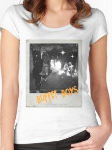 Buffet Boys Women's Fitted Scoop T-Shirt