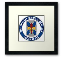 256th Infantry LA ANG Framed Print