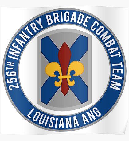 256th Infantry LA ANG Poster