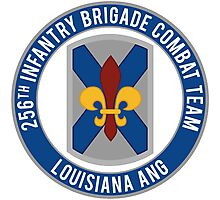 256th Infantry LA ANG Photographic Print