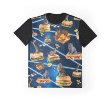Junk Cat From Outer Space Graphic T-Shirt