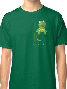 Kermit Pocket - muppet show Classic T-Shirt
