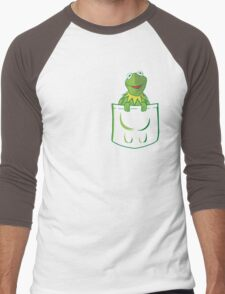 Kermit Pocket - muppet show Men's Baseball ¾ T-Shirt
