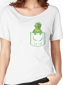 Kermit Pocket - muppet show Women's Relaxed Fit T-Shirt