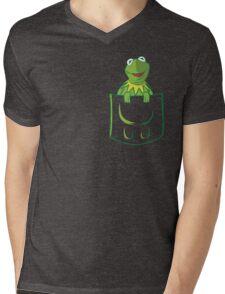 Kermit Pocket - muppet show Mens V-Neck T-Shirt