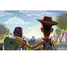 Toy Story - Buzz and Woody Photographic Print