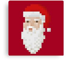 Santa face Canvas Print