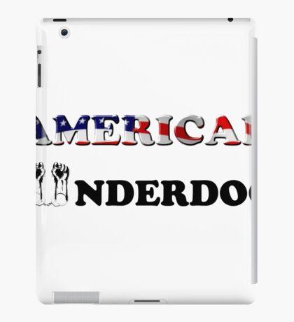 American Underdog - Silenced iPad Case/Skin
