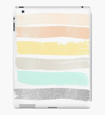 Pastel abstract art iPad Case/Skin