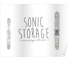 Sonic Storage Poster