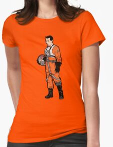 He's a Rebel Womens Fitted T-Shirt