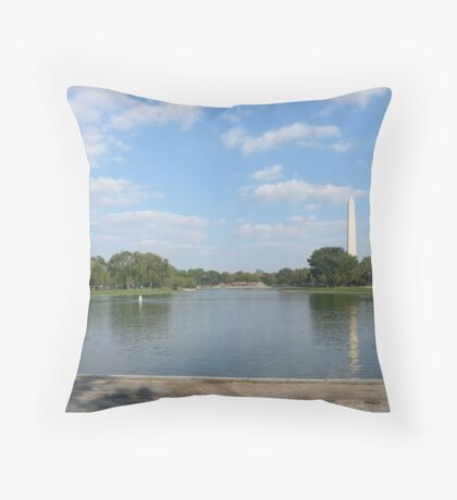 Washington Monument, Washington DC USA Throw Pillow