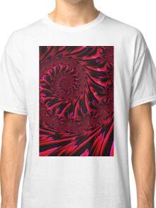 Red Brocade Classic T-Shirt