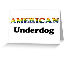American Underdog - Free To Be Greeting Card
