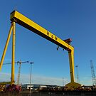 """Samson"" one of the Harland and Wolff main dock Belfast  iconic cranes by Jon Lees"