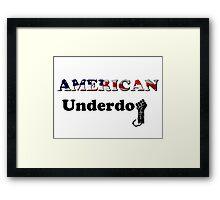 American Underdog - Freedom Framed Print