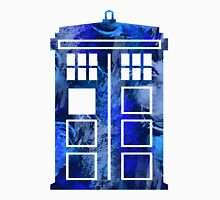 Tardis Watercolor - Doctor Who Unisex T-Shirt