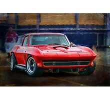 Chevrolet Corvette Stingray Photographic Print