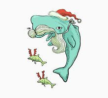 Christmas Whale Unisex T-Shirt