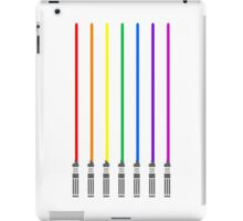 Lightsaber Rainbow iPad Case/Skin