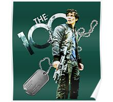 The 100 Bellamy/Forest/Dog Tag Poster