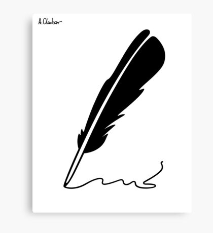Quill Canvas Print