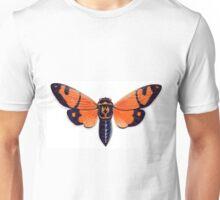 Orange Cicada Unisex T-Shirt