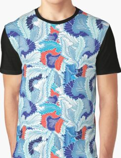 Winter patterns feathers Graphic T-Shirt