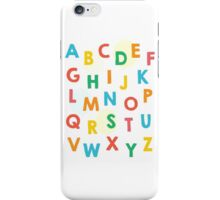 ABC's Balloons iPhone Case/Skin