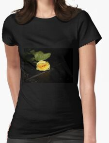 Yellow rose on an empty stage T-Shirt