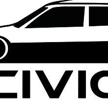Honda Civic EF by micfle08