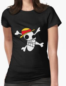 Straw Hat Pirates Womens Fitted T-Shirt
