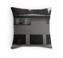 The House With the Crooked Stairs Throw Pillow