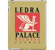 Retro vintage Ledra Palace Hotel Nicosia Cyprus iPad Case/Skin