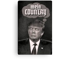 MEIN COUNTRY. Canvas Print