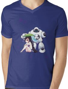 Blitzcranck and Vayne Mens V-Neck T-Shirt