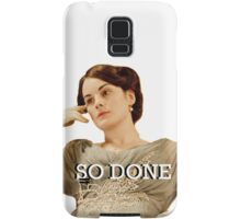 Lady Mary from Downton Abbey Samsung Galaxy Case/Skin