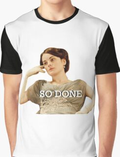 Lady Mary from Downton Abbey Graphic T-Shirt