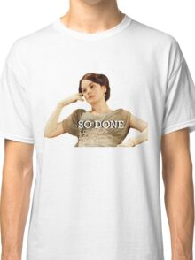 Lady Mary from Downton Abbey Classic T-Shirt