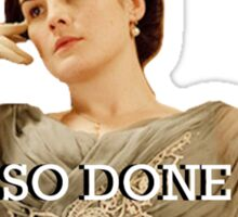 Lady Mary from Downton Abbey Sticker