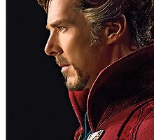 Benedict Cumberbatch Doctor Strange by Anemoe