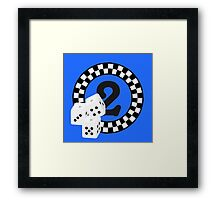 Bunco Dices - Table No Two VRS2 Framed Print