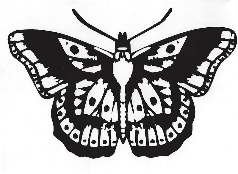"""Harry Styles Butterfly Tattoo"" Stickers by Willow Hudson"
